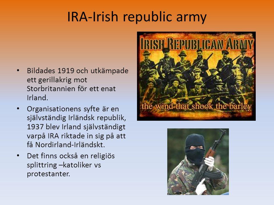 IRA-Irish republic army