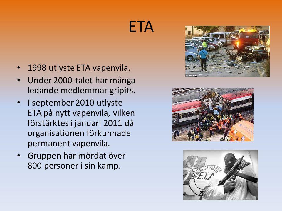 ETA 1998 utlyste ETA vapenvila.