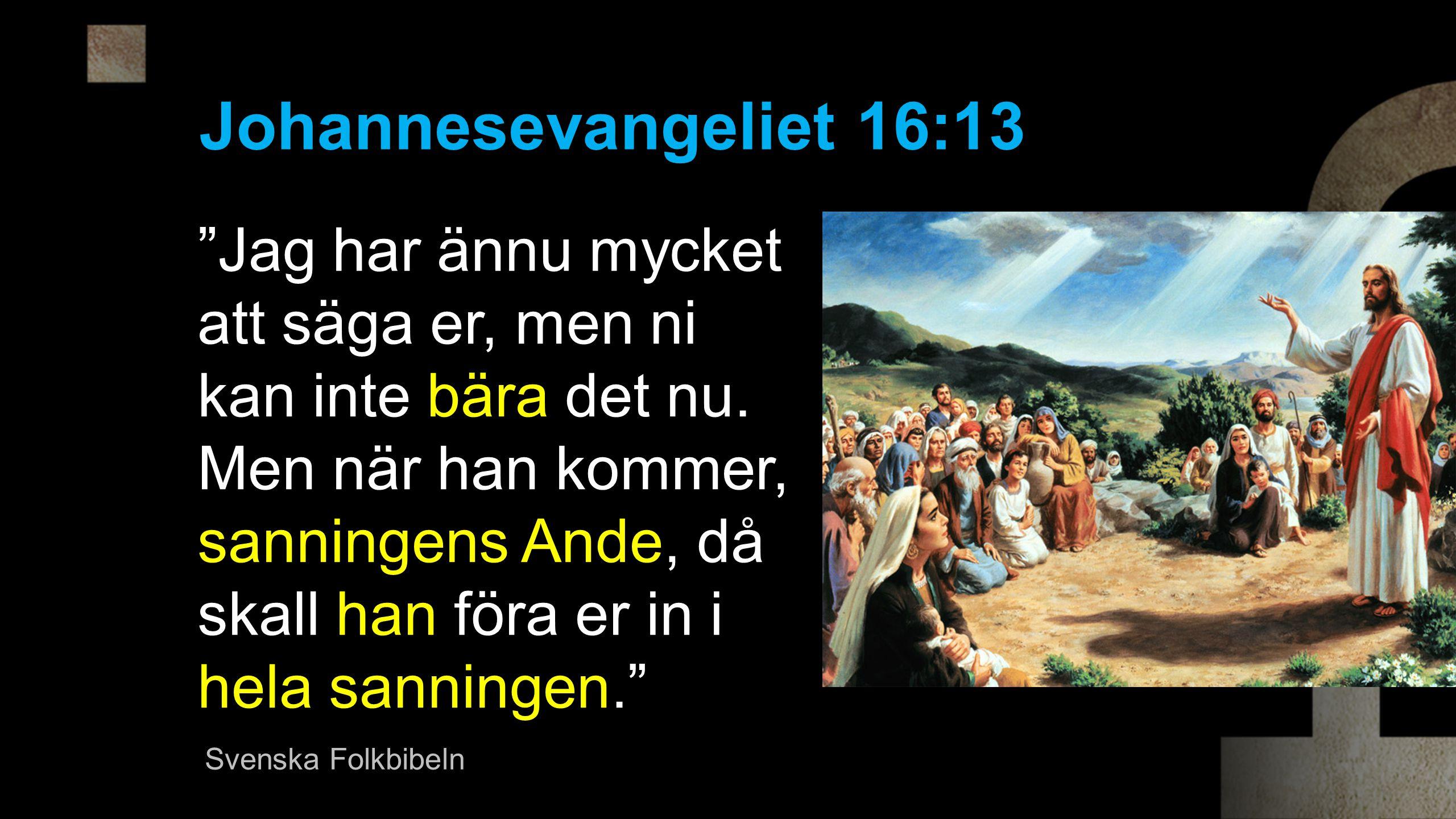 Johannesevangeliet 16:13