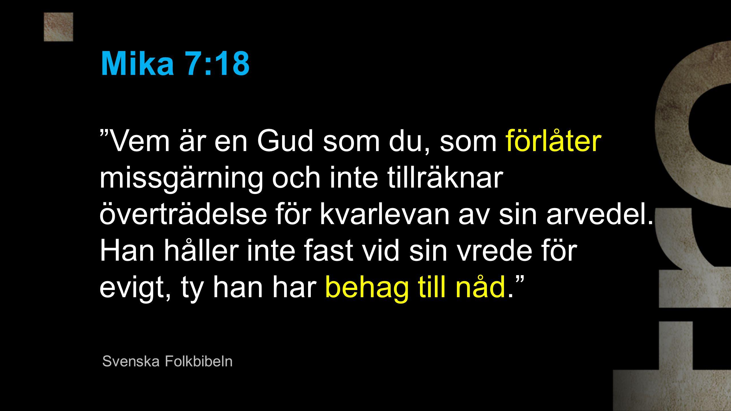 Mika 7:18
