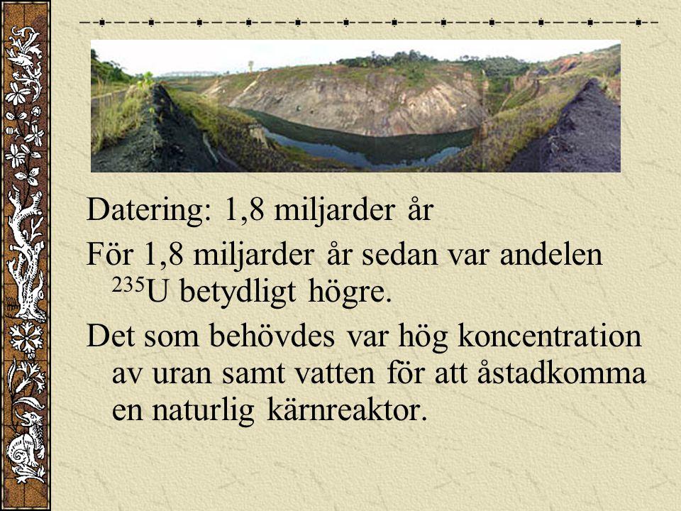 Datering: 1,8 miljarder år