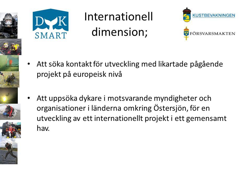 Internationell dimension;