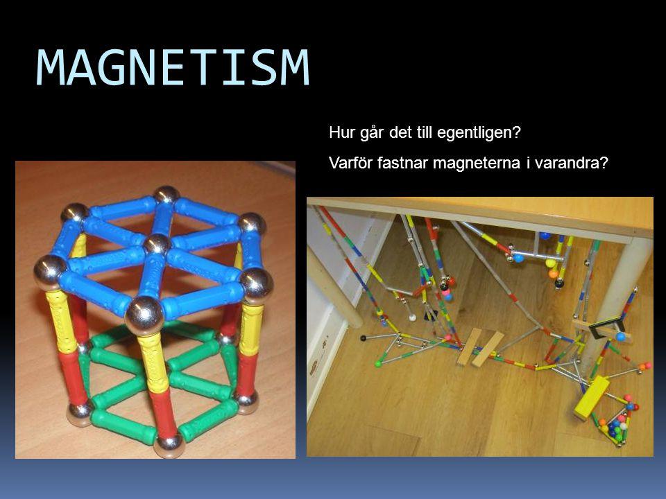 MAGNETISM Hur går det till egentligen