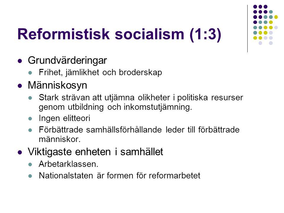 Reformistisk socialism (1:3)