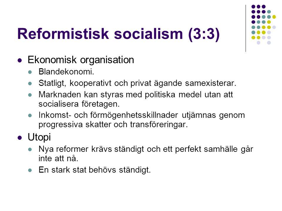 Reformistisk socialism (3:3)