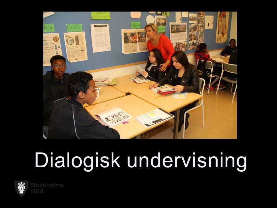Dialogisk undervisning