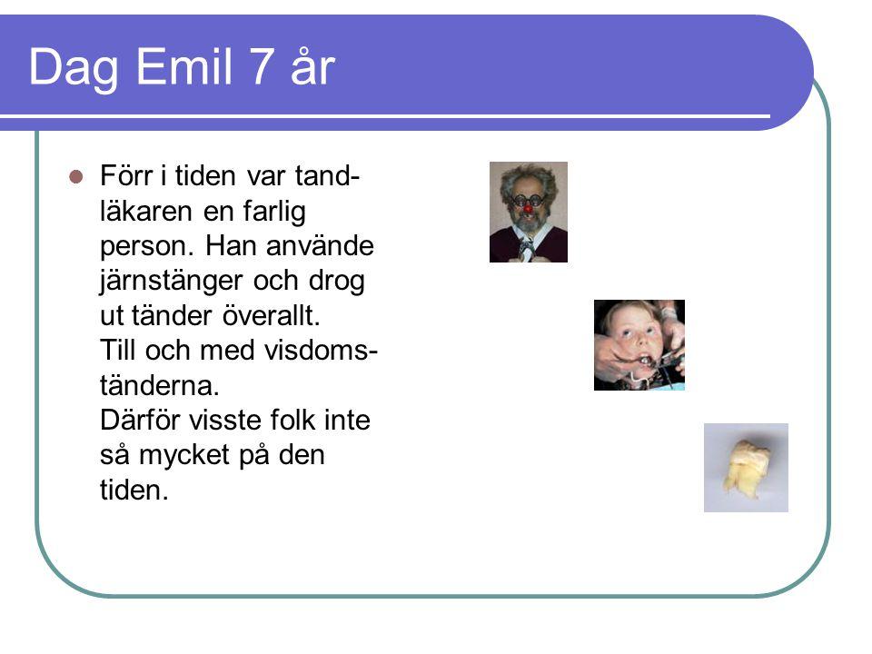 Dag Emil 7 år