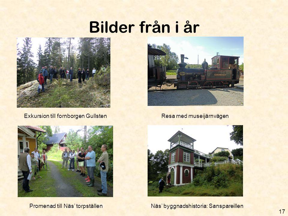 Bilder från i år Exkursion till fornborgen Gullsten