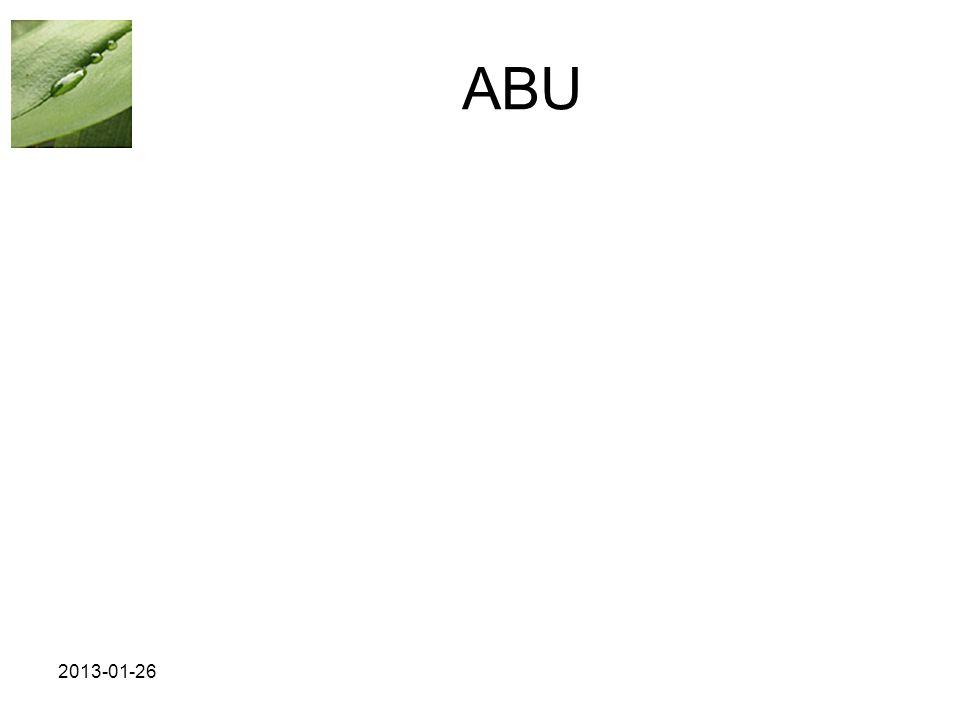ABU 2013-01-26