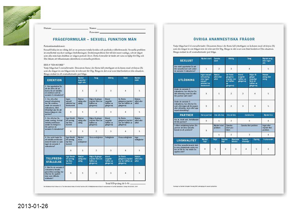 Utredning och diagnos 2013-01-26