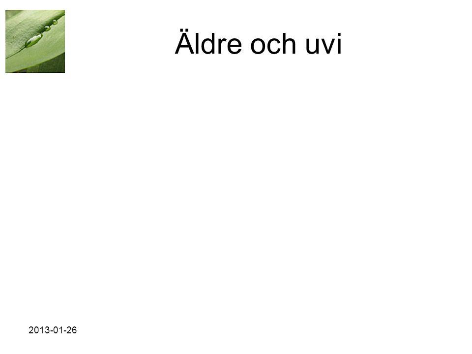 Äldre och uvi 2013-01-26