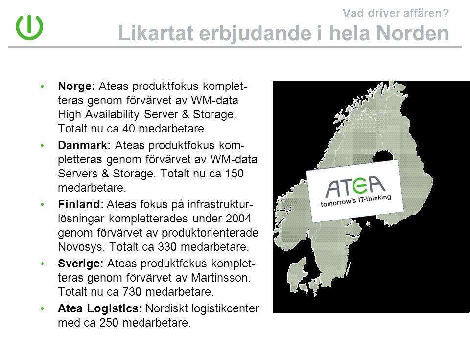 Vad driver affären Likartat erbjudande i hela Norden