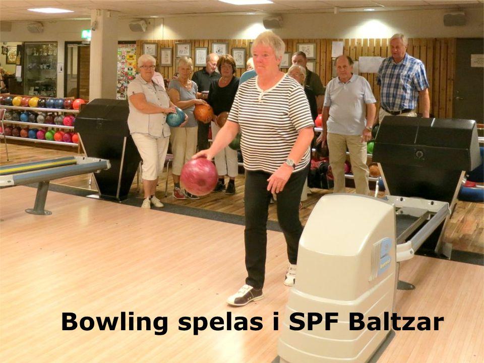 Bowling spelas i SPF Baltzar