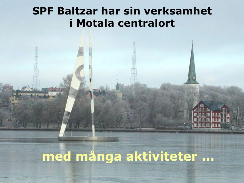 SPF Baltzar har sin verksamhet i Motala centralort