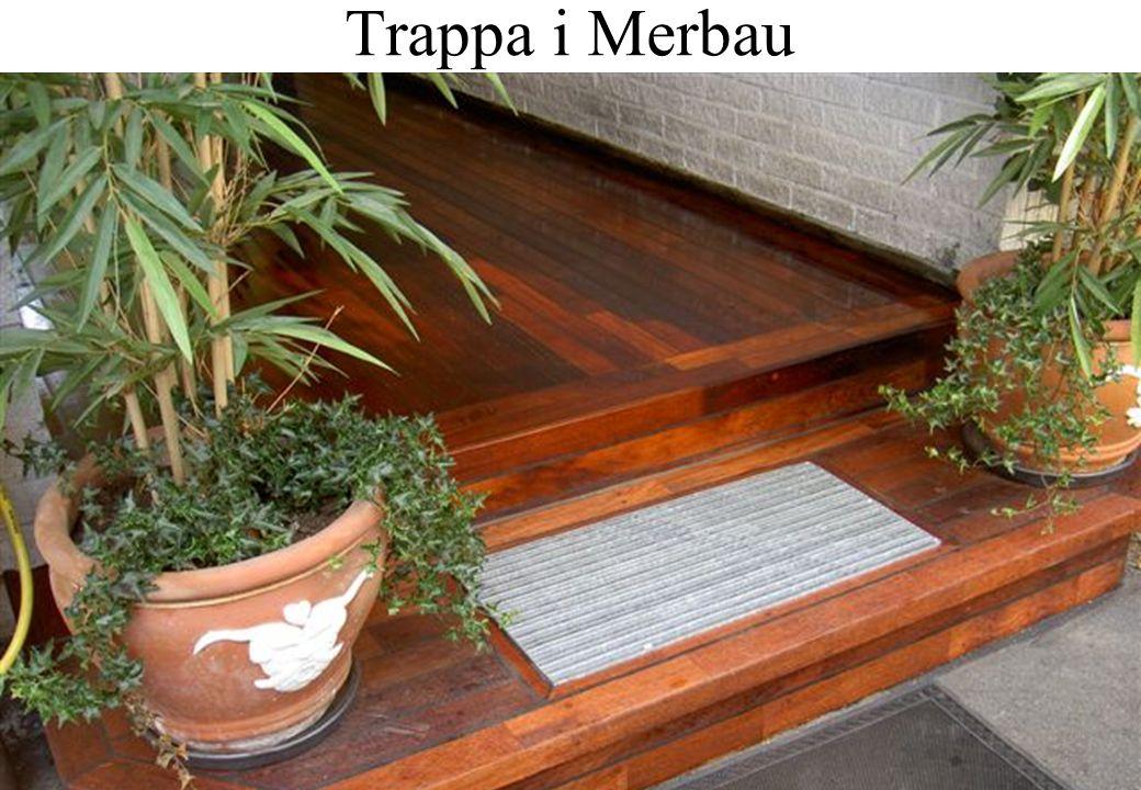 Trappa i Merbau