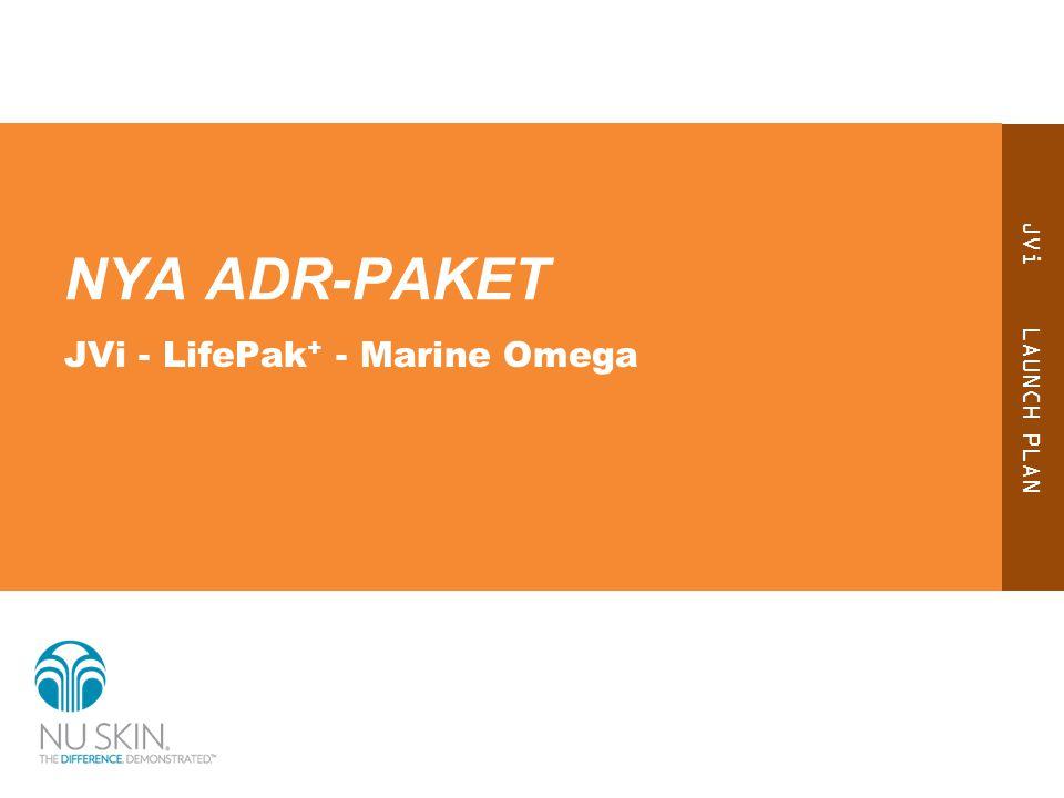 NYA ADR-PAKET JVi - LifePak+ - Marine Omega