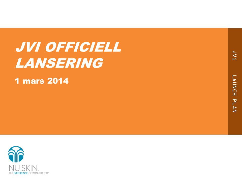 JVI OFFICIELL LANSERING