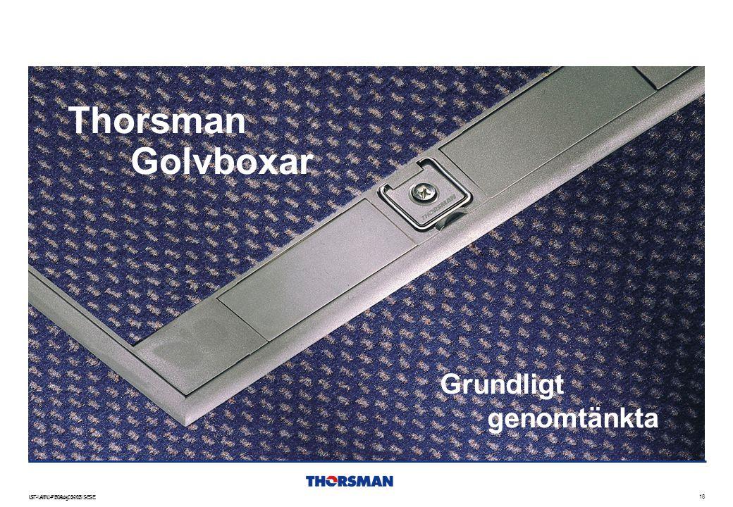 Thorsman Golvboxar Grundligt genomtänkta IS - AW – 2004-01-12 - SE 2