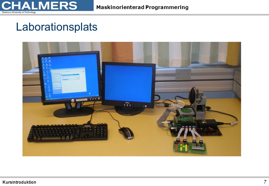 Laborationsplats Kursintroduktion