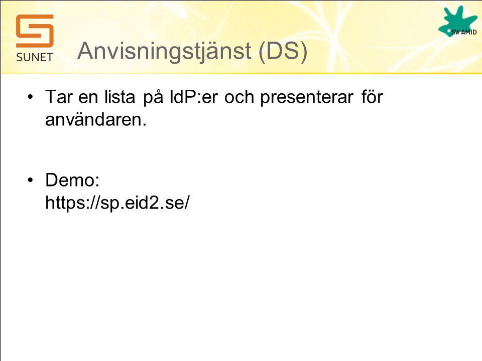 Anvisningstjänst (DS)