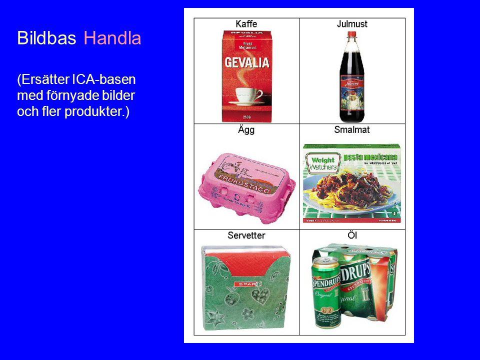 Bildbas Handla (Ersätter ICA-basen med förnyade bilder och fler produkter.)