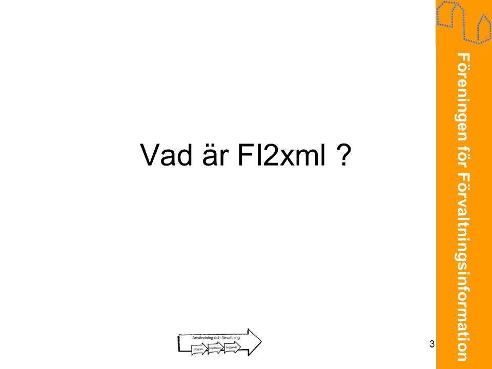 Vad är FI2xml