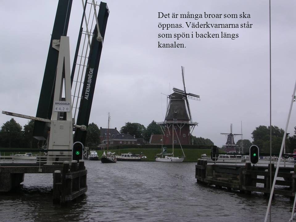 Det är många broar som ska öppnas