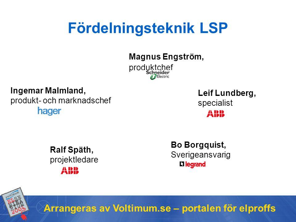 Fördelningsteknik LSP