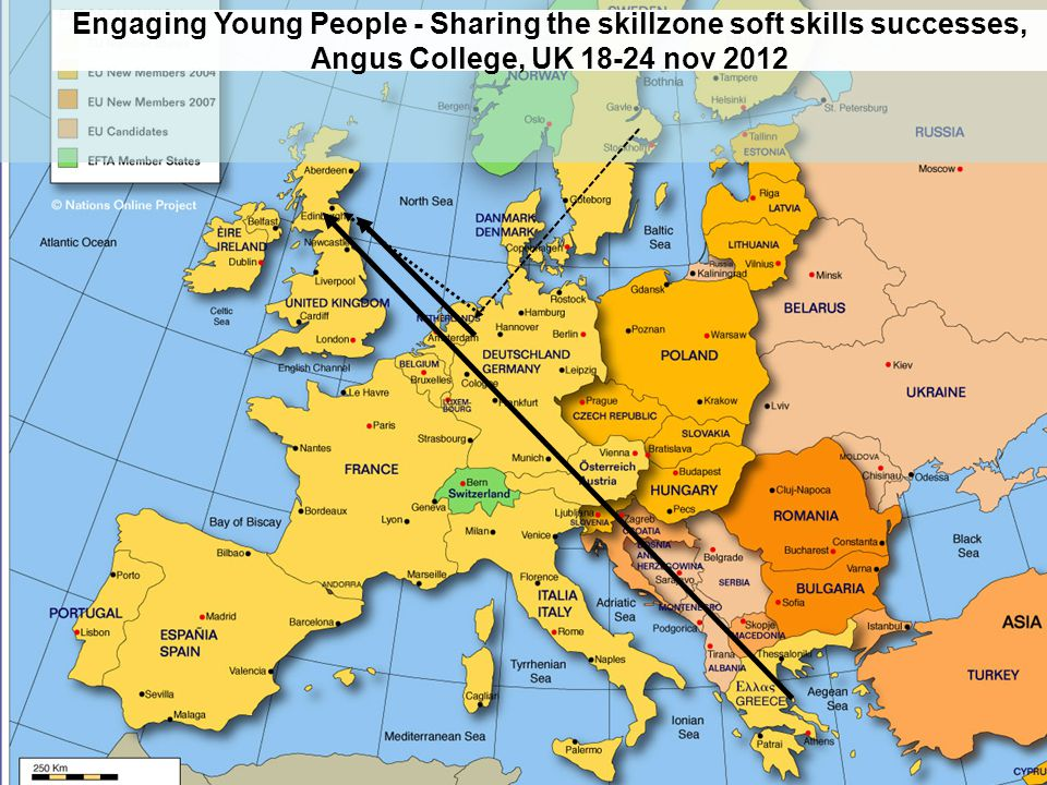 Engaging Young People - Sharing the skillzone soft skills successes, Angus College, UK 18-24 nov 2012