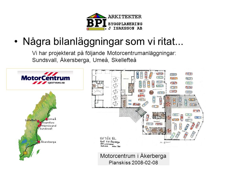 Motorcentrum i Åkerberga
