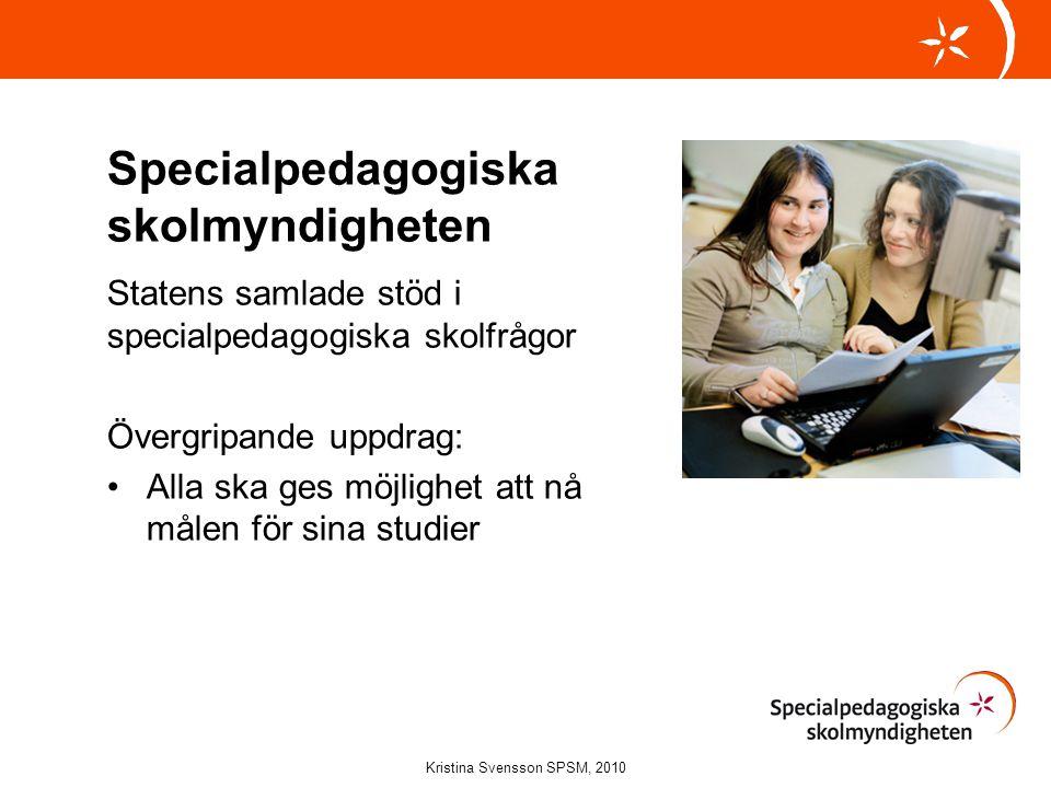 Kristina Svensson SPSM, 2010