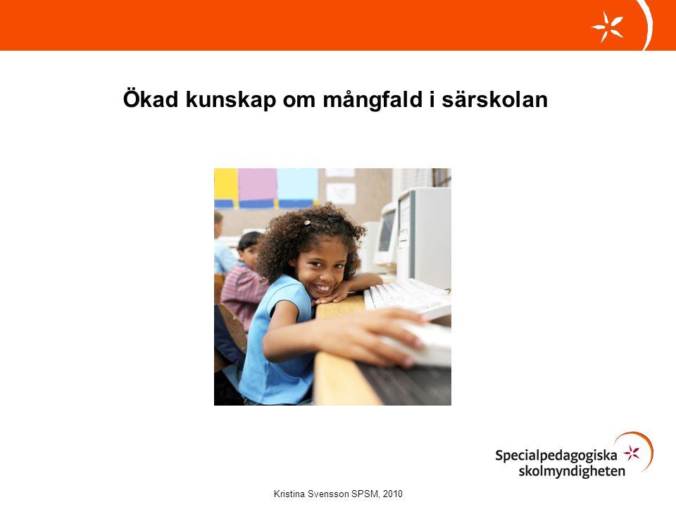 Ökad kunskap om mångfald i särskolan