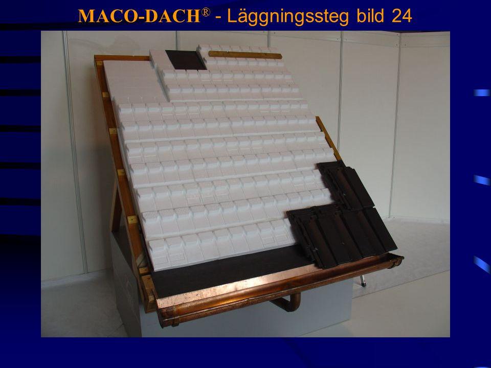 MACO-DACH® - Läggningssteg bild 24
