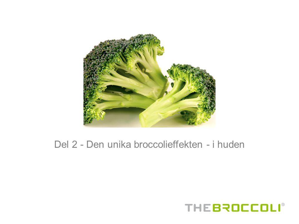 Del 2 - Den unika broccolieffekten - i huden