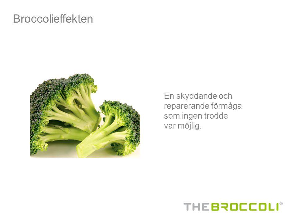 Broccolieffekten En skyddande och reparerande förmåga som ingen trodde