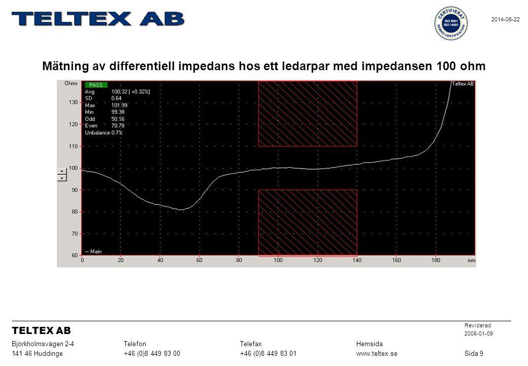 Sida 9 www.teltex.se. +46 (0)8 449 83 01. +46 (0)8 449 83 00. 141 46 Huddinge. Hemsida. Telefax.