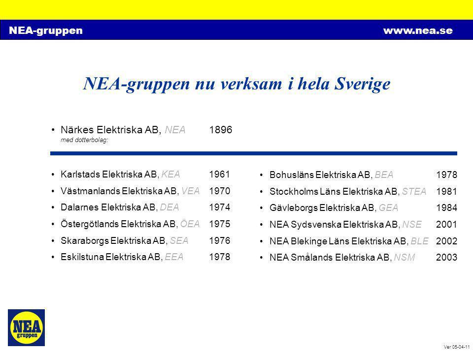 NEA-gruppen nu verksam i hela Sverige
