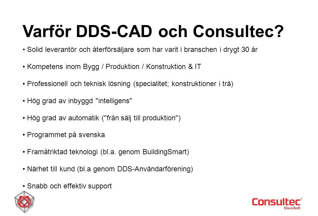 Varför DDS-CAD och Consultec