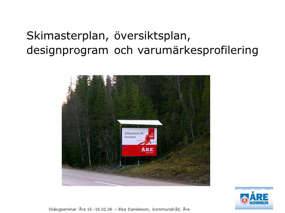 Skimasterplan, översiktsplan,