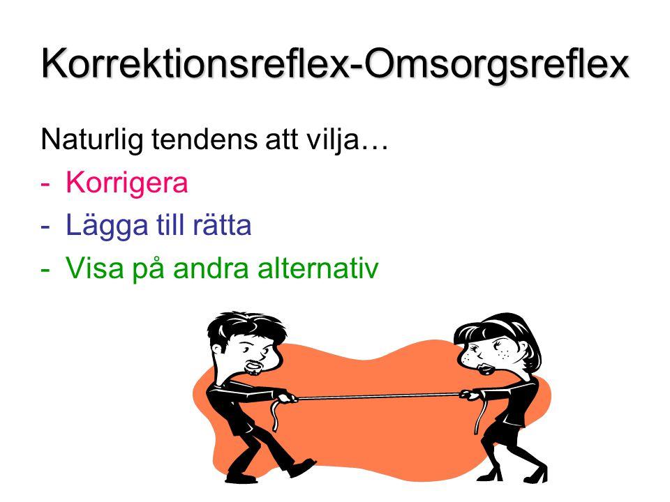 Korrektionsreflex-Omsorgsreflex