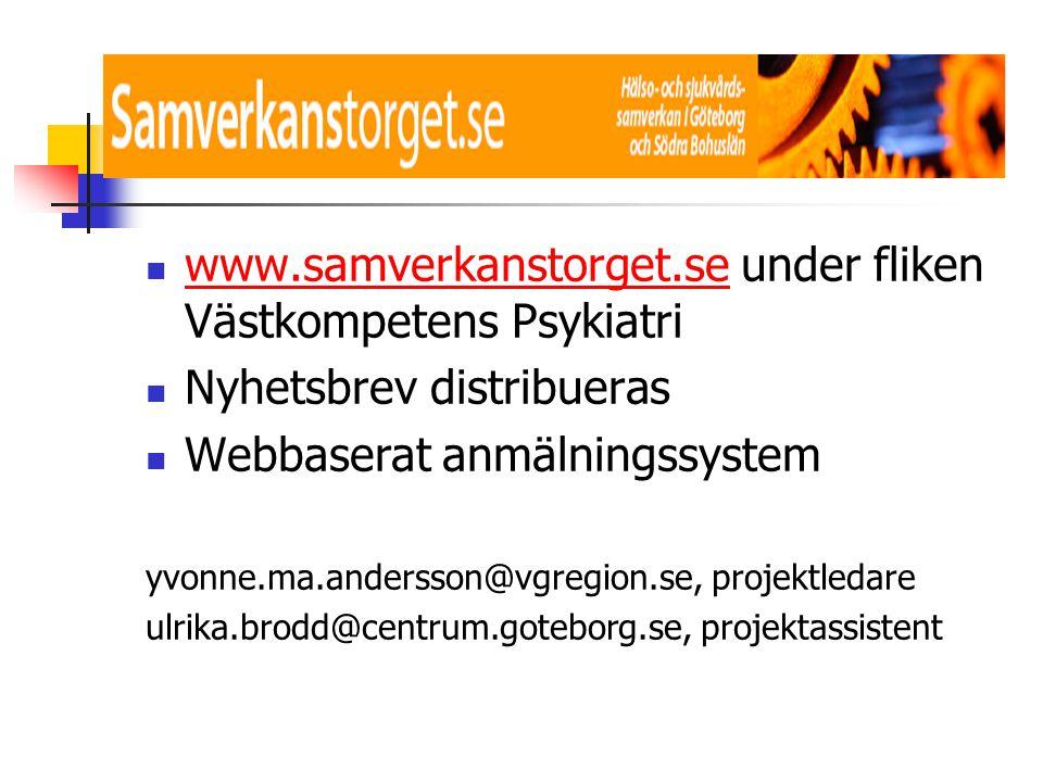 www.samverkanstorget.se under fliken Västkompetens Psykiatri