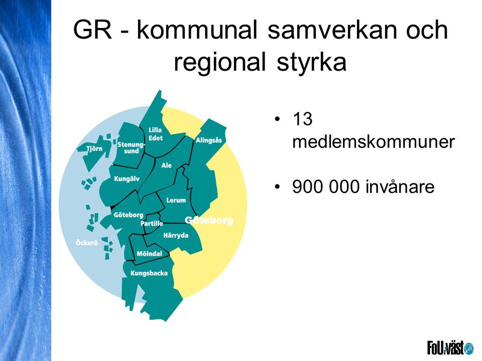 GR - kommunal samverkan och regional styrka