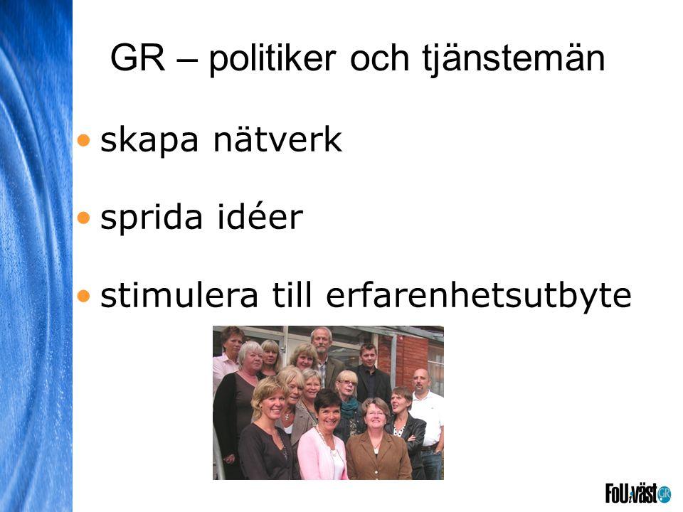 GR – politiker och tjänstemän