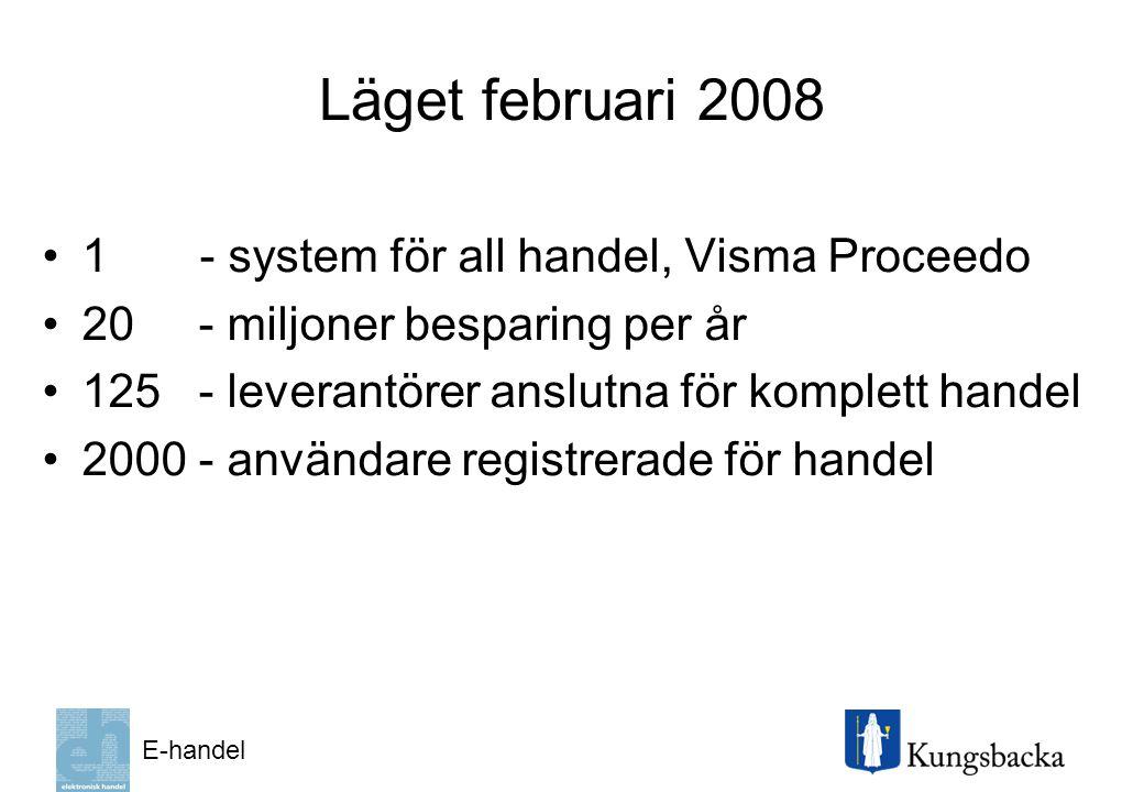 Läget februari 2008 1 - system för all handel, Visma Proceedo