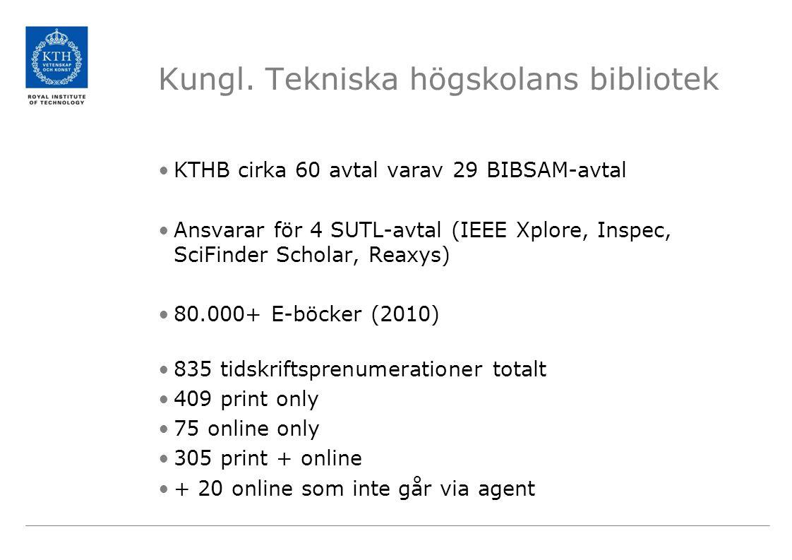 Kungl. Tekniska högskolans bibliotek