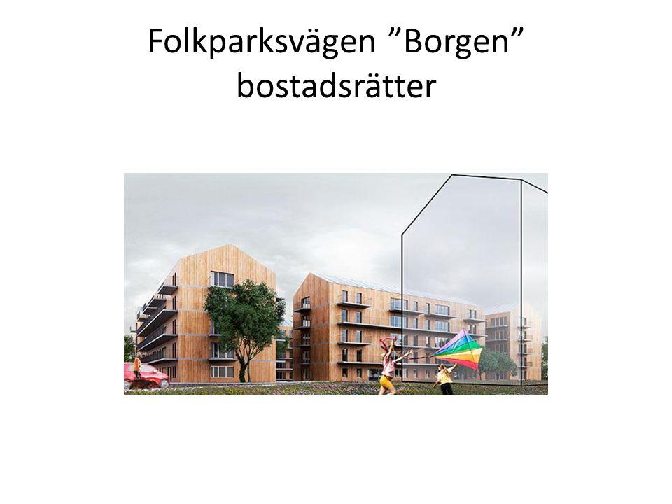 Folkparksvägen Borgen bostadsrätter