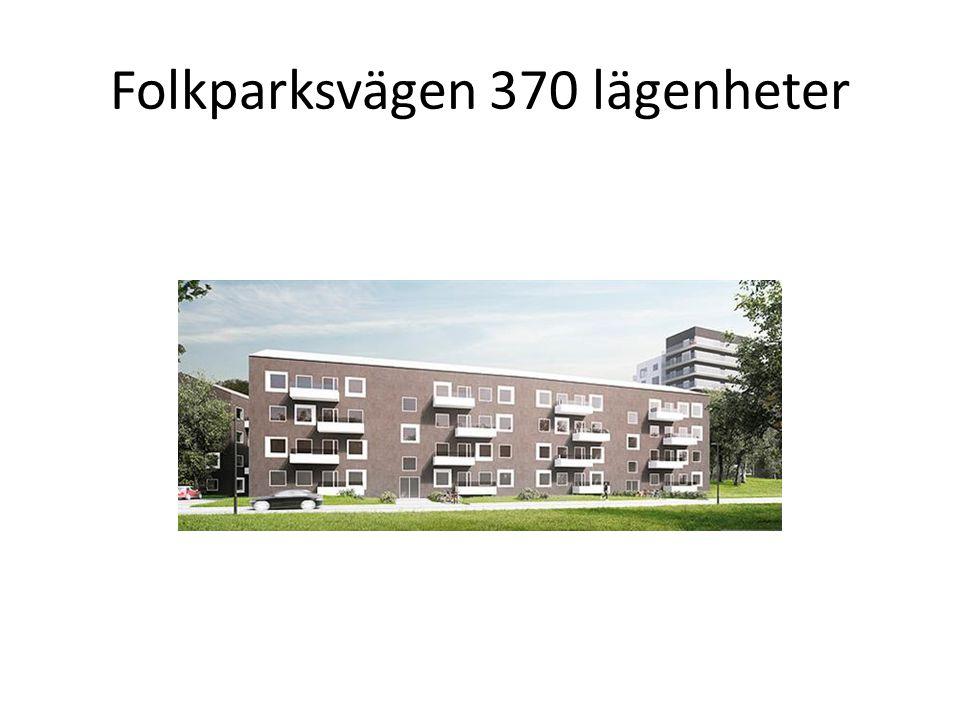 Folkparksvägen 370 lägenheter