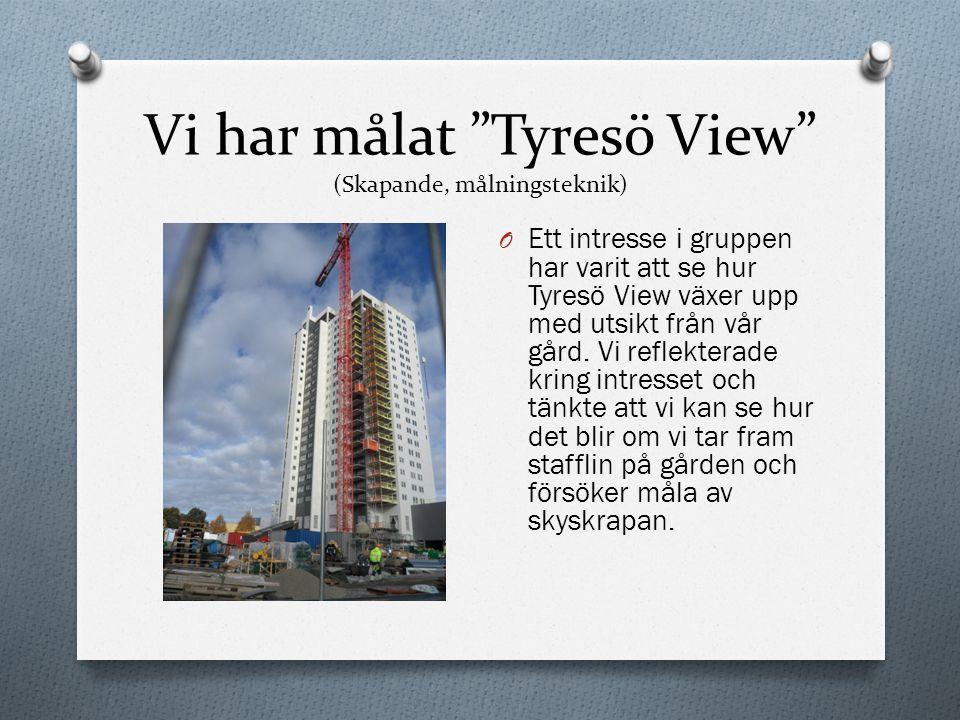 Vi har målat Tyresö View (Skapande, målningsteknik)