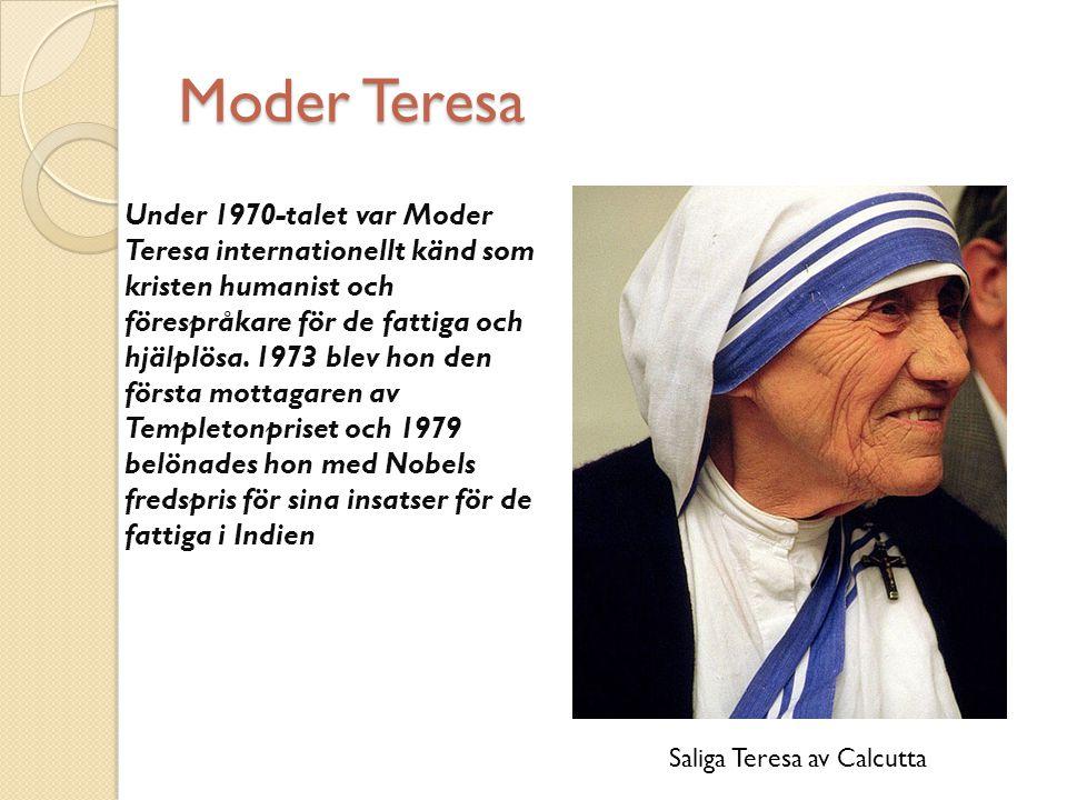 Saliga Teresa av Calcutta