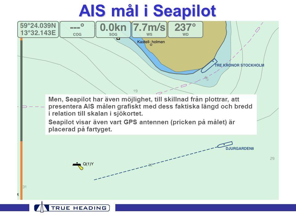 AIS mål i Seapilot